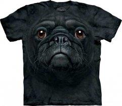 Black Pug Face Mops - T-shirt The Mountain