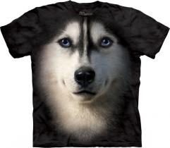 Siberian Husky Face - The Mountain
