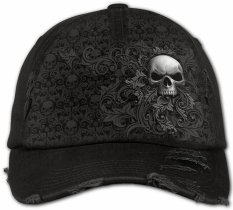 Skull Scroll - Baseball Cap - Spiral