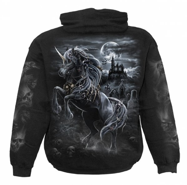 Dark Unicorn - Mikina -Spiral