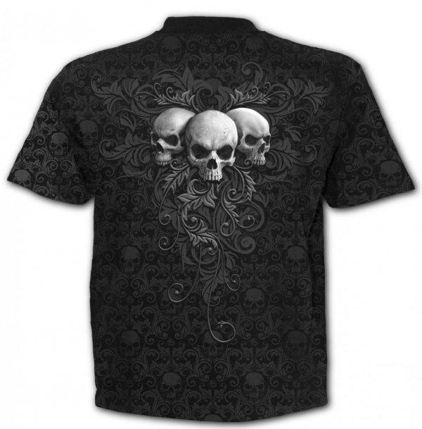 Skull Scroll - Spiral