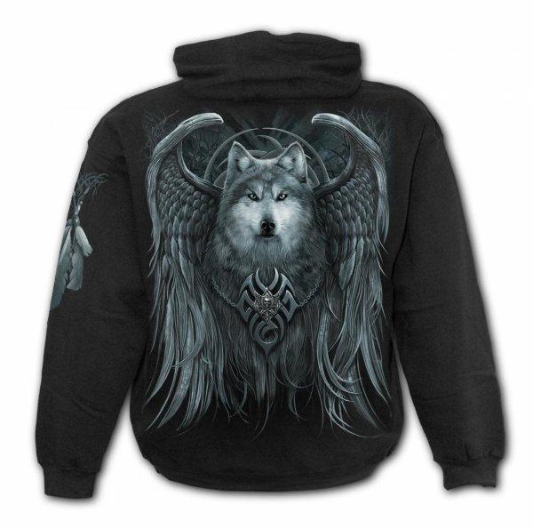 Wolf Spirit - Mikina -Spiral