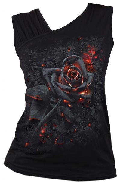 Burnt Rose - Slant Top Spiral – Ladies