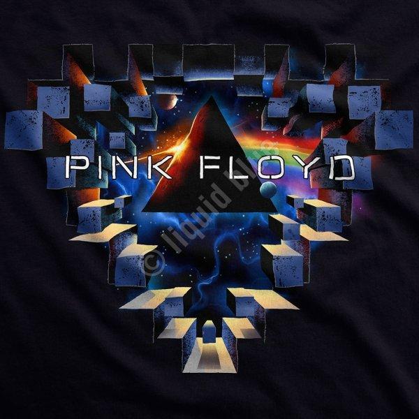 Pink Floyd Space Window - Liquid Blue