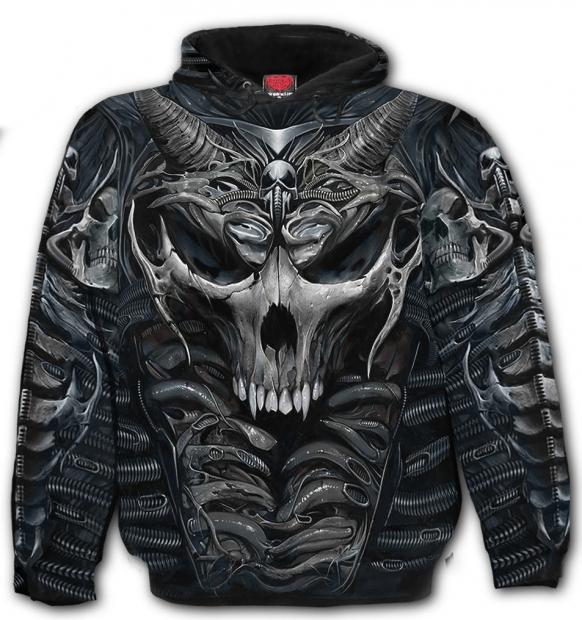 Skull Armour - Mikina -Spiral