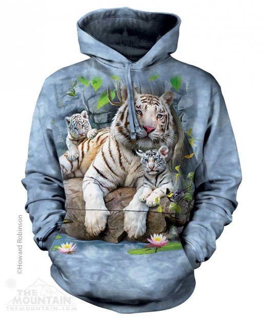 White Tigers of Bengal - Mikina The Mountain