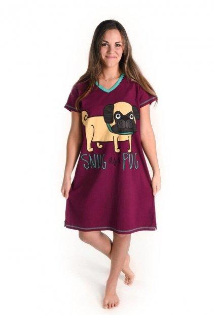 Snug As a Pug Nightshirt - Noční košilka - LazyOne