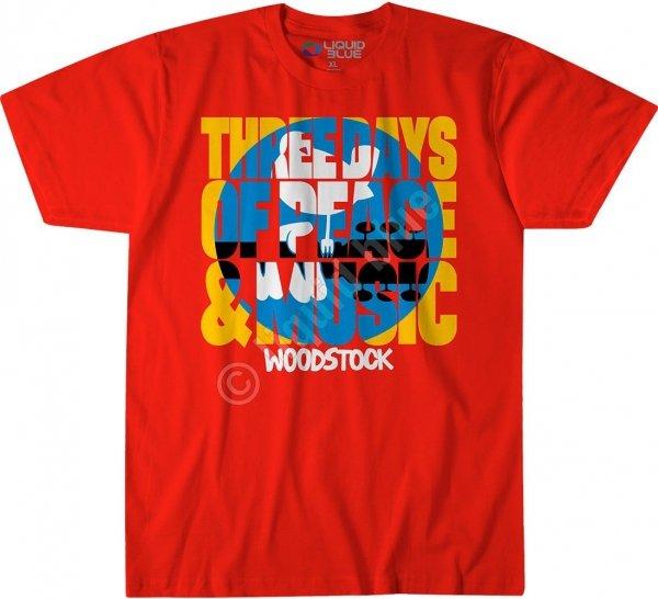 Woodstock Logo Red - Liquid Blue