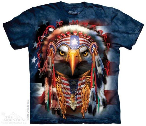 Native Patriot Eagle - The Mountain