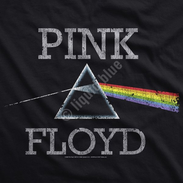 Pink Floyd Dark Side Classic - Mikina Liquid Blue