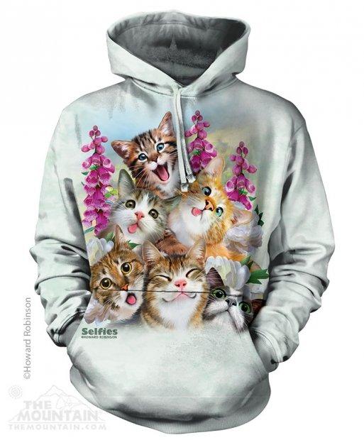 Kittens Selfie - Mikina The Mountain