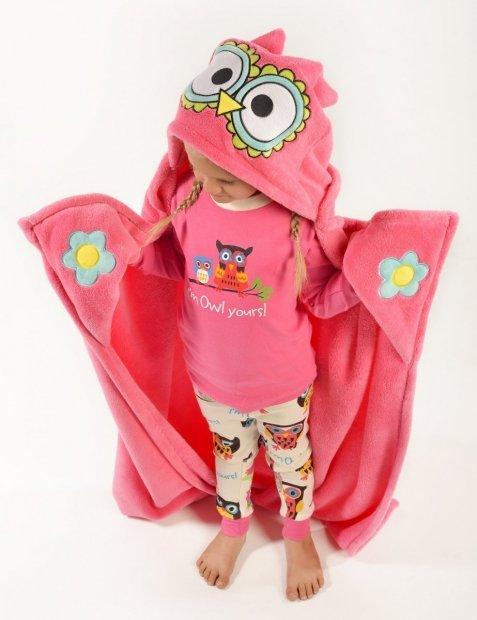 Owl - Přikrývky - zvířatka - LazyOne
