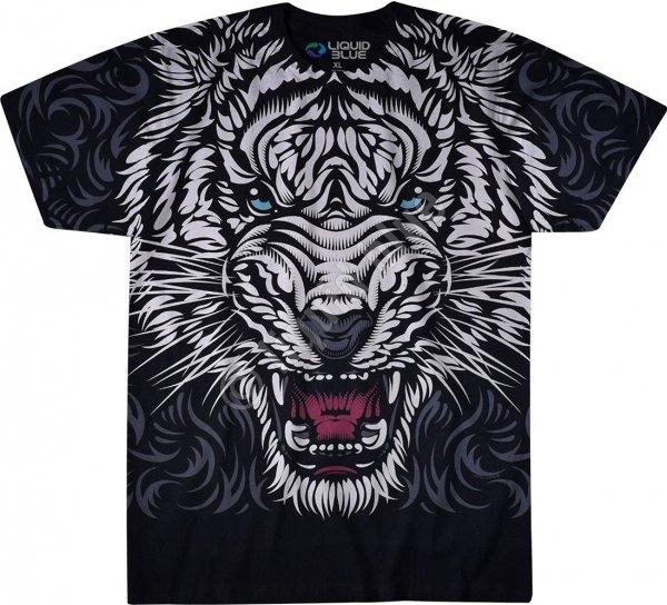 White Tiger Stare - Liquid Blue