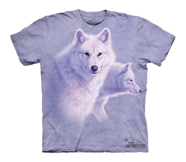 Graceful White Wolves - Junior - The Mountain