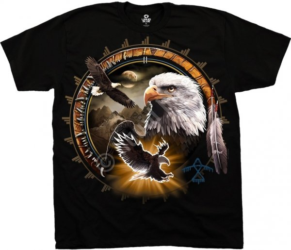 Eagle Dreamcatcher - Liquid Blue