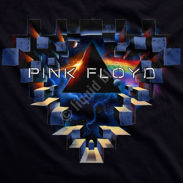 Pink Floyd Space Window - Liquid Blue