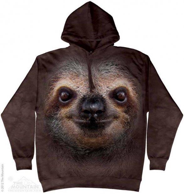 Sloth Face - Leniwiec - Bluza The Mountain