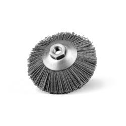 Szczotka tarczowo-kątowa Ø 120 z nakrętką M14, abralon Ø 1,20 (80 SiC) (003-BKTA)