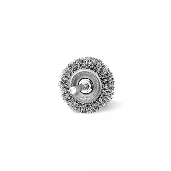 Szczotka tarczowa FI 50 trzpień stalowa (005-ASW)