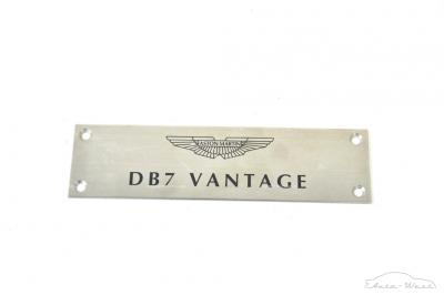 Aston Martin DB7 Vantage V12 Kickplate ornament plate