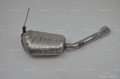 Bentley Arnage 2006 Rear left exhaust muffler silencer