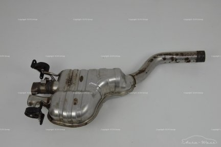 Bentley Continental GT GTC Rear right exhaust muffler silencer