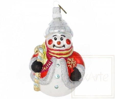 Schneemann 15cm – Ich liebe den Winter