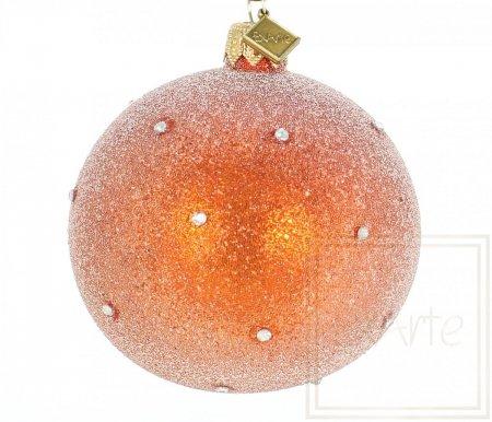 Kula 8cm - Gwiezdny Pył na pomarańczy