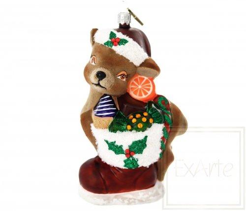 Kleiner Hirsch 14 cm – Mit Süßigkeiten