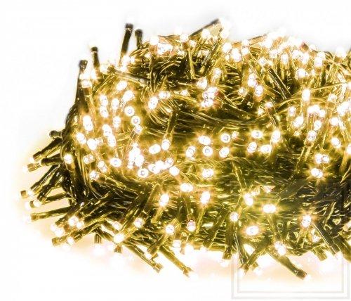 Weihnachtslämpchen Straightlight mit hoher Lichterdichte - Länge 16m, warmes weißes Licht