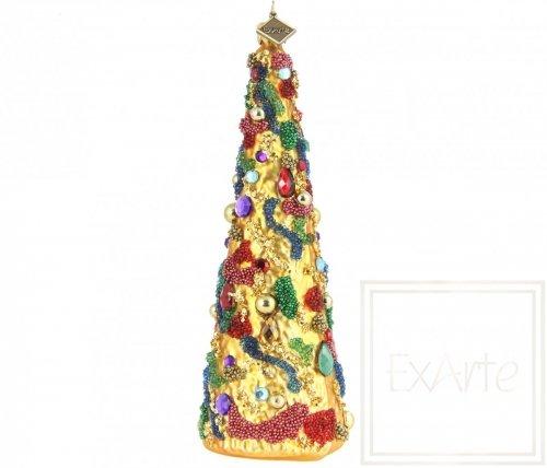 Christbaum 16cm – Geschmack des Karnevals