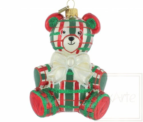 Teddybär 12cm  - Schottischer Tartan