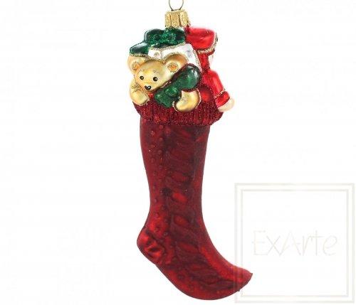 Socke mit Geschenken - 15cm