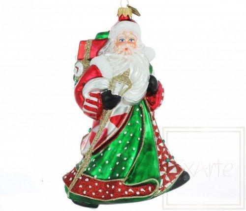 Mikołaj 18cm -  Wesołych Świąt