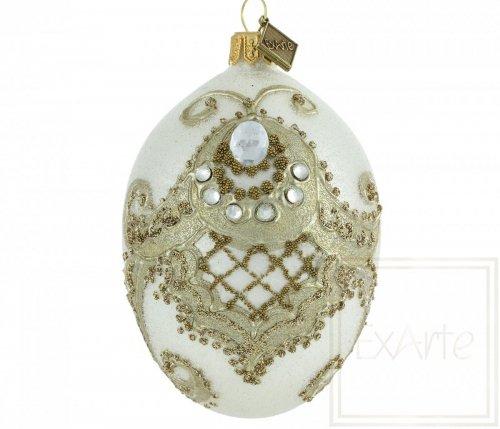 Jajko 11cm - Piękno adamaszku