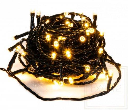 Lampki choinkowe Novalight - długość 12m, światło białe ciepłe