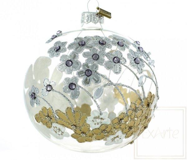 Szklana Kula - 10cm, Glaskugel - 10cm, Glass ball - 10cm