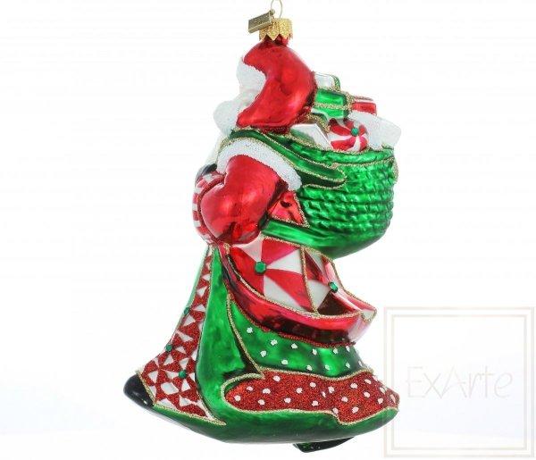 Klassische Weihnachtsbaumkugeln Nikolaus back