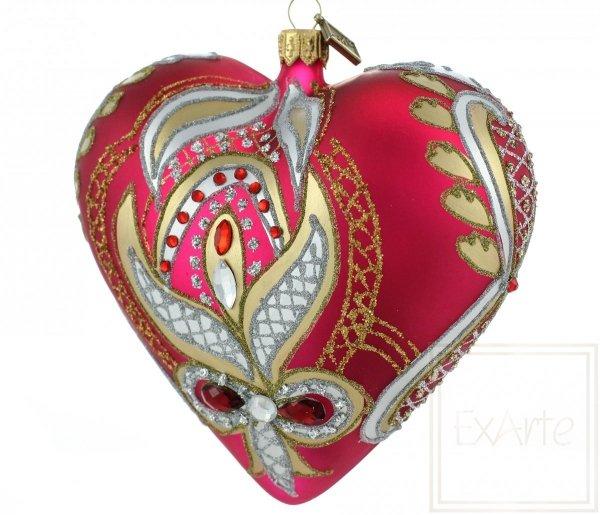 Herz 12cm - Heißes Gefühl