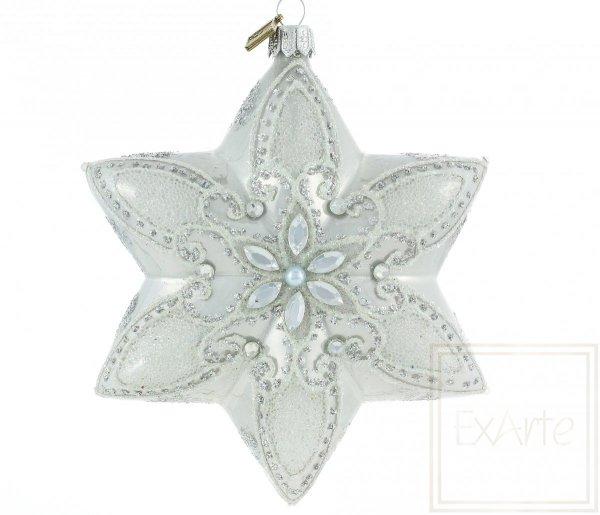 Stern 12cm Polaris Weihnachtskugeln, bauble Star 12cm Polaris, Bąbka Gwiazda 12cm - Polaris