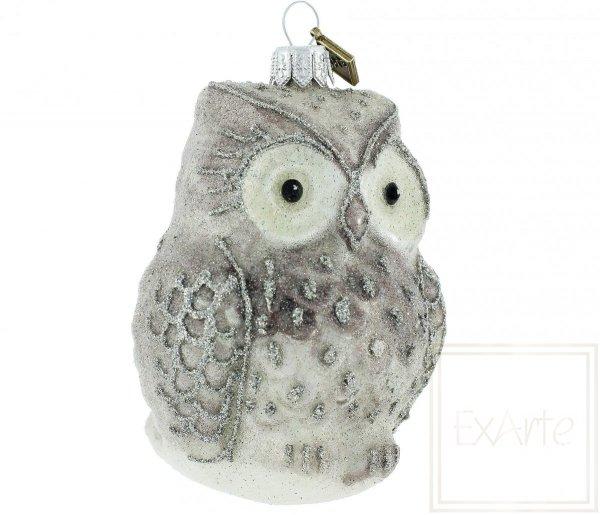 bombki figurki sowy / Schnee-Eule - 10cm / Snow Owl - 10cm