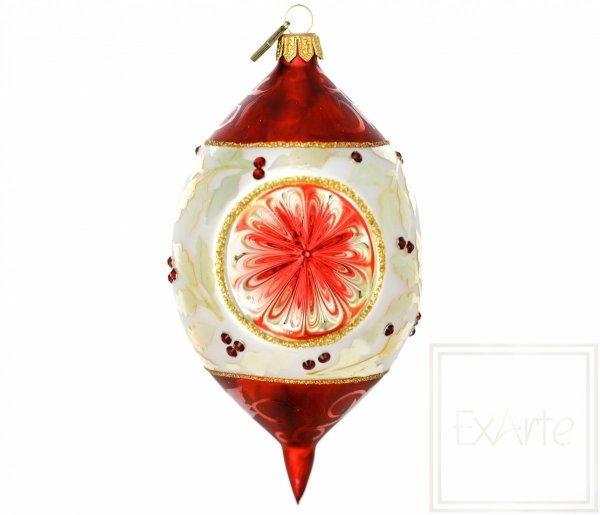 Bombka z potrójnym reflektorem 14cm
