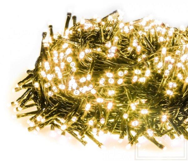 Lampki choinkowe Straightlight o dużym zagęszczeniu żarówek - długość 16m, światło białe ciepłe
