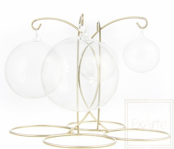 Bombka szklana kula transparentna, Kula 6cm - Weinachtskugeln
