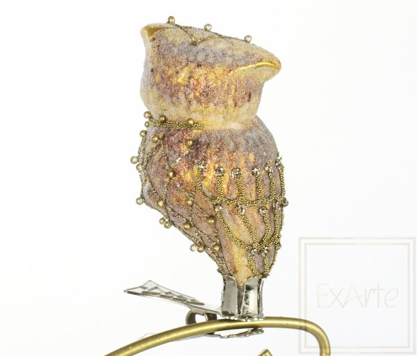 Sówka złocista 8cm