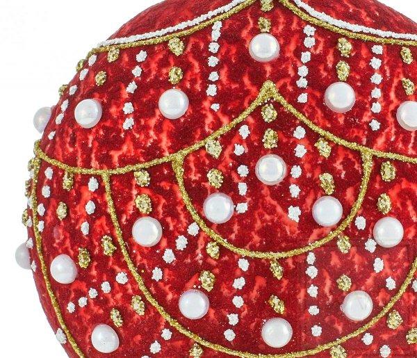 10cm Medaillon - Perlenregen