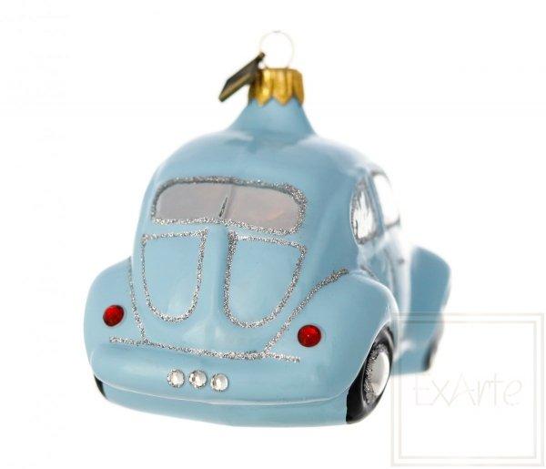 błękitny samochodzik bombka