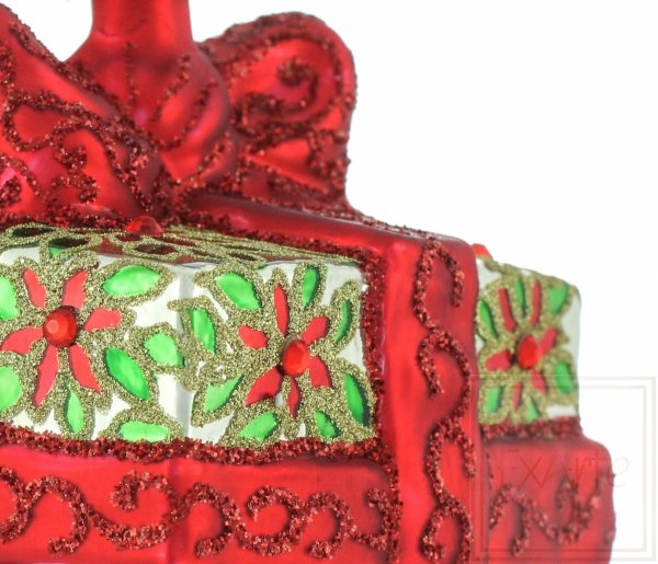 bombka prezent, Weihnachtskugeln Geschenk