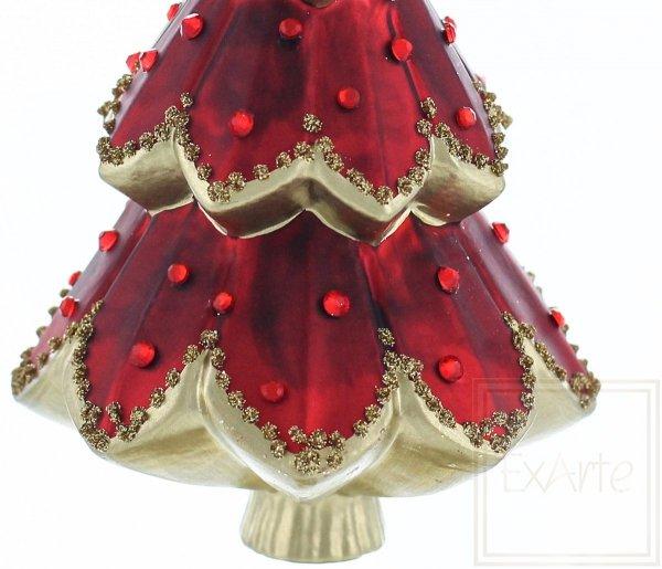 Choinka 15cm - Czerwona królowa