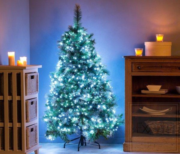 Lampki choinkowe Straightlight o dużym zagęszczeniu żarówek - długość 16m, światło białe